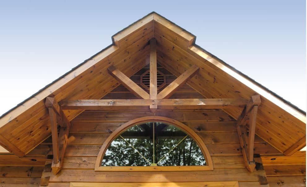 By The Water S Edge Confederation Log Amp Timber Frame