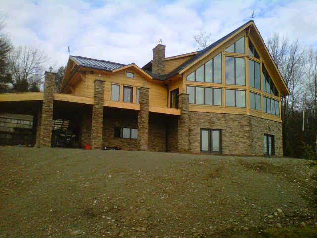 R value and your log home here 39 s a building tip that can for Best r value windows