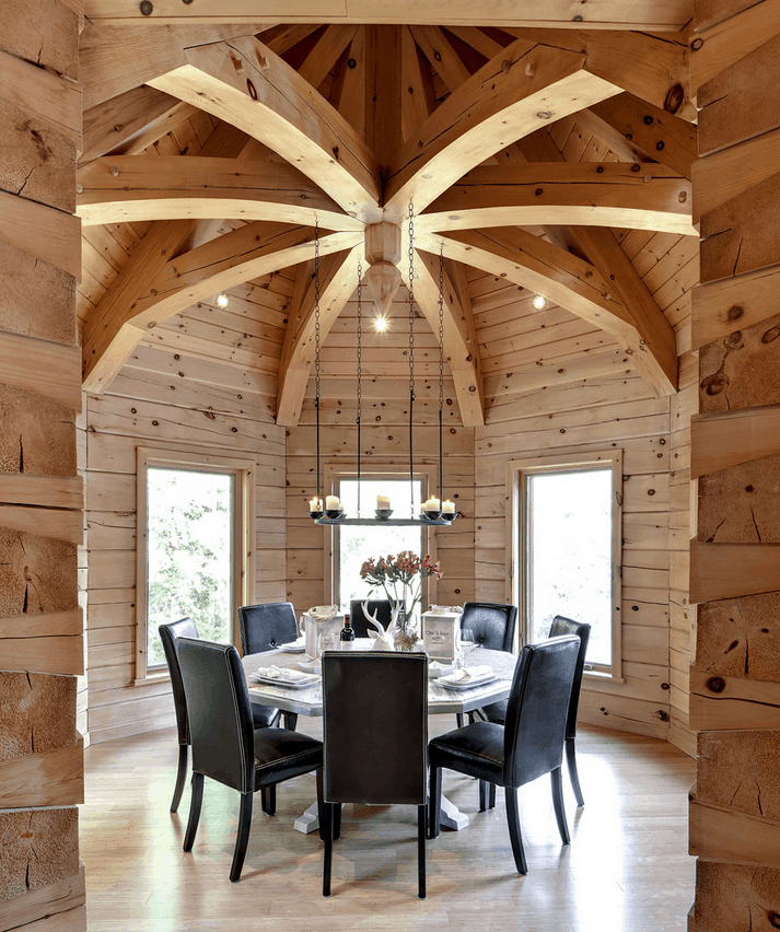 How to build a log cabin with confidence confederation for A frame log home