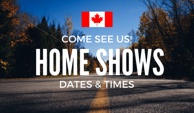 We're coming to you in March: Canadian Home Shows