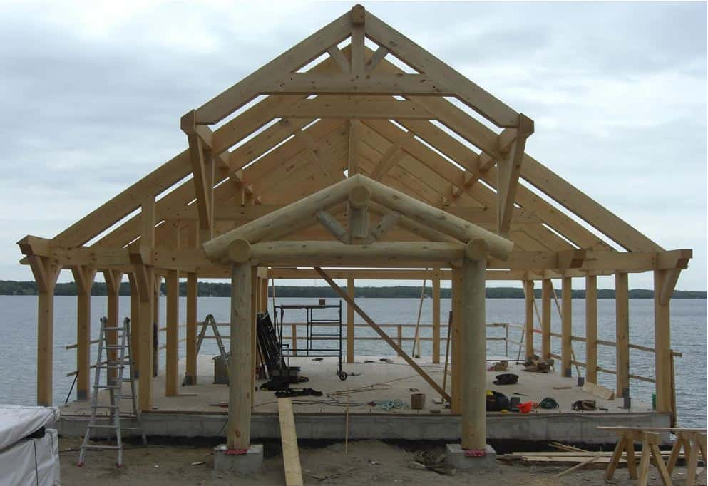 photo of Timber Frame Boat House