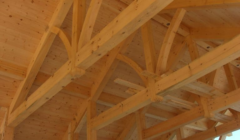 Timber accents really enhance log homes