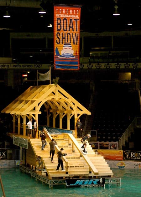 Boat Show Timber Frame
