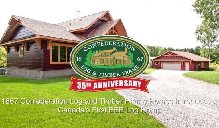 Tour this energy efficient log home [video]