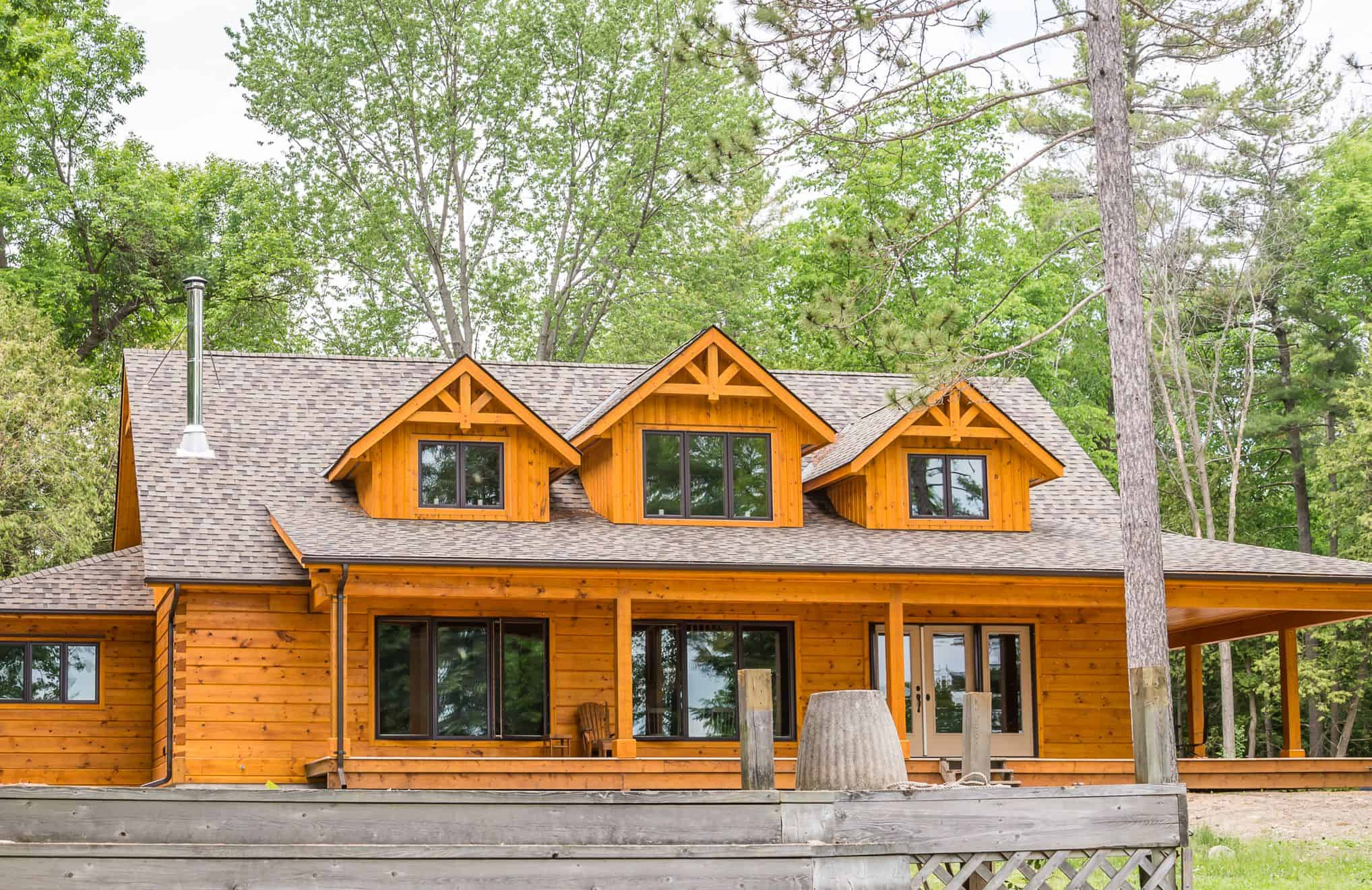 Do It Yourself Home Design: Confederation Log & Timber Frame
