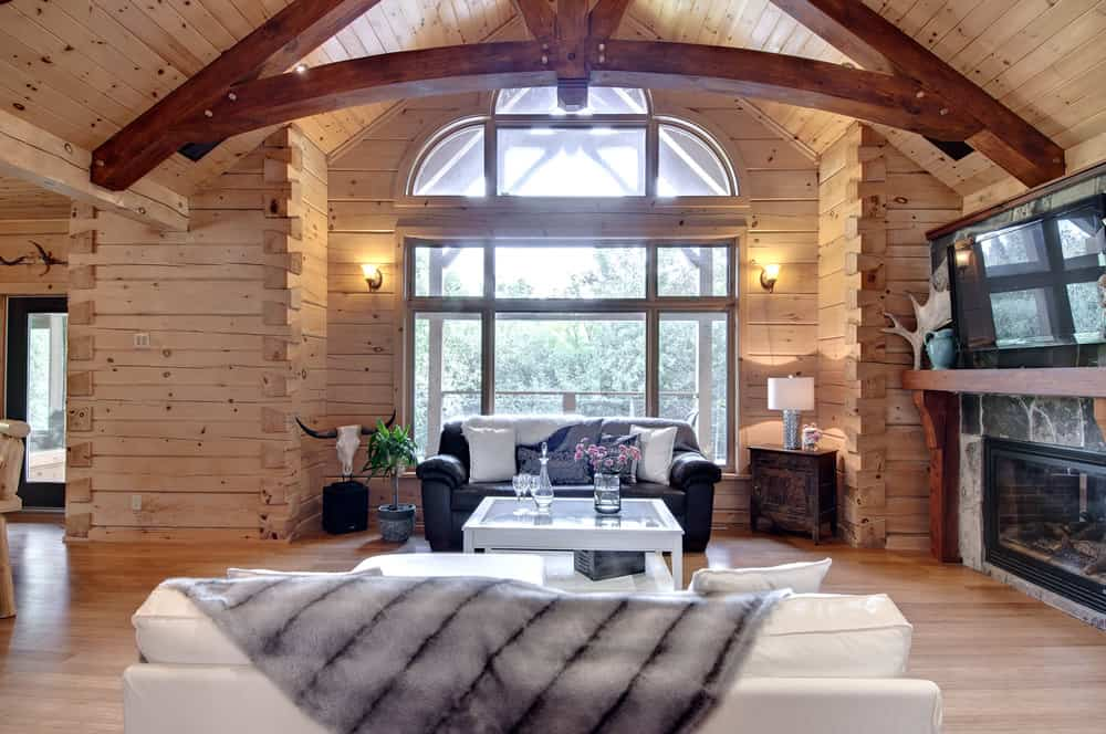 Find your style options for your log or timber frame home for A frame house prices