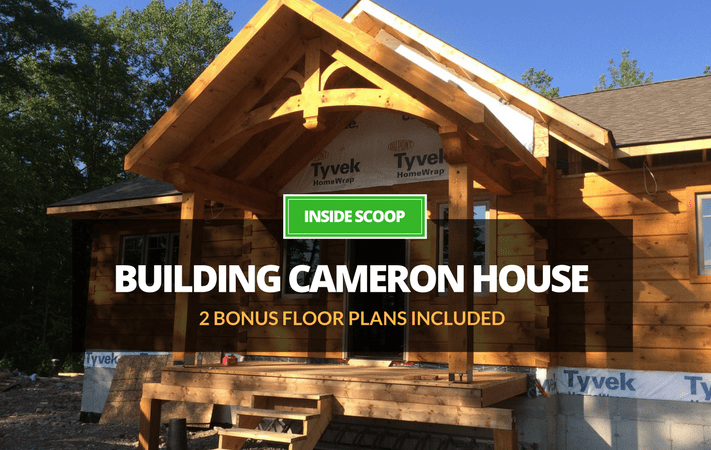 The Insider: Ritch shares the lessons learned from building his new log home