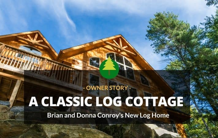 A Classic Log Cottage Comes to Life