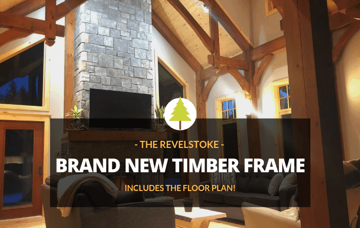 Inside Rich's New Timber Frame Home